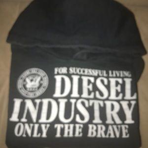 Diesel Industry Sweatshirt with Hoodie